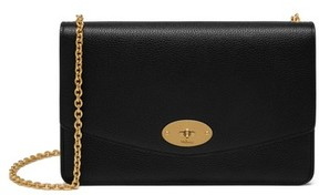 Mulberry Medium Darley Leather Clutch - Black
