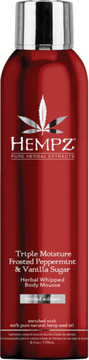 Hempz Frosted Peppermint & Vanilla Sugar Herbal Whipped Body Mousse