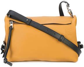Loewe Brown Mustard Small Tent Bag