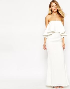 Jarlo lily bandeau maxi dress best wedding dresses for for Maxi dress for wedding reception