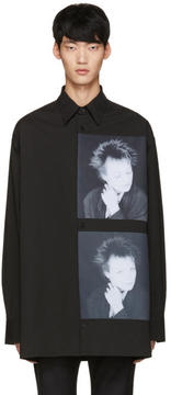 Raf Simons Black Robert Mapplethorpe Edition Laurie Oversized Shirt