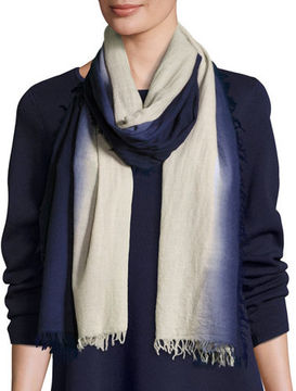Eileen Fisher Silk-Cashmere Ombre Scarf