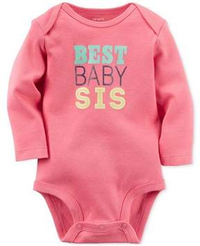 Carter's Baby Girl Long Sleeves Bodysuit