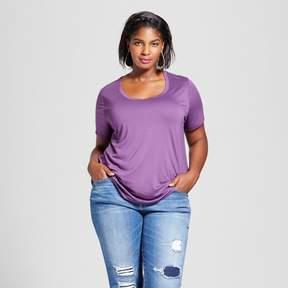 Ava & Viv Women's Plus Size Perfect T-Shirt