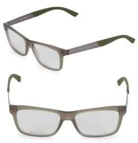 Gucci 50MM Havana Optical Glasses