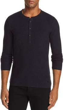 BOSS ORANGE Topsider Long Sleeve Henley