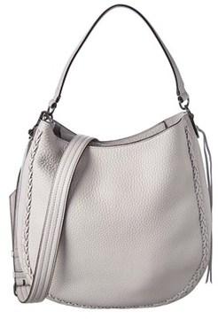 Rebecca Minkoff Leather Convertible Hobo. - BEIGE - STYLE