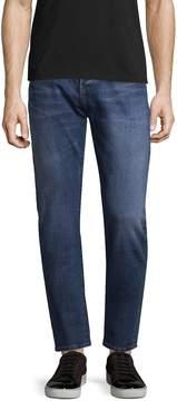 BLK DNM Men's 3 Faded Jeans