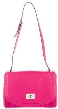 Kate Spade Leather Shoulder Bag - PINK - STYLE