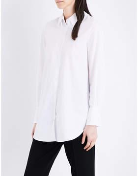 Claudie Pierlot Charlene cotton-poplin shirt