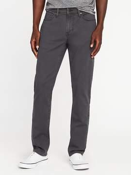 Old Navy Slim Built-In Flex Twill Five-Pocket Pants for Men