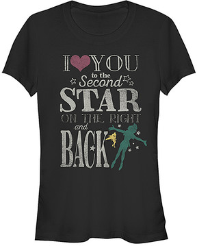 Fifth Sun Peter Pan 'Love You To Second The Star' Tee - Juniors