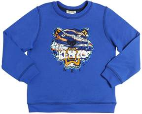 Kenzo Embroidered Tiger Wool Blend Sweatshirt