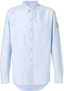 Moncler Gamme Bleu logo patch shirt