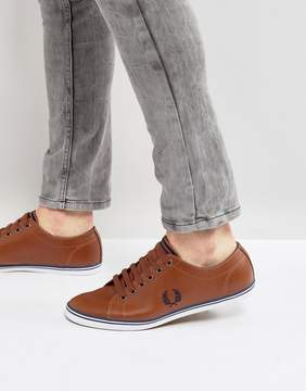 Fred Perry Kingston Leather Sneakers Tan