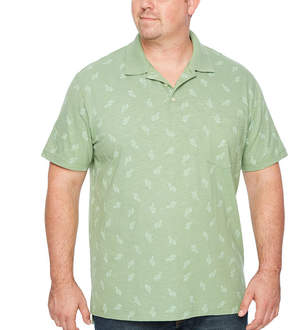 Co THE FOUNDRY SUPPLY The Foundry Big & Tall Supply Short Sleeve Jersey Polo Shirt Big and Tall