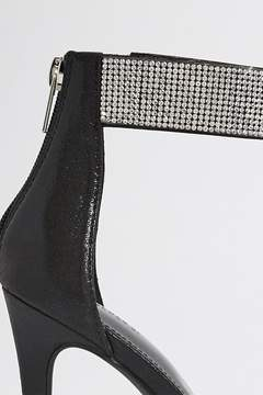 Forever 21 Faux Crystal Stiletto Heels