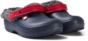 Crocs Navy/Slate Grey Classic Blitzen III Clog K Shoes