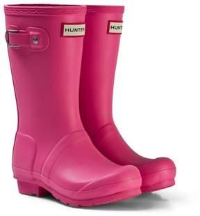 Hunter Fuchsia Wellington Boots