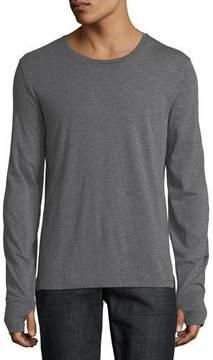 Burberry Marchston Logo Sleeve T-Shirt, Medium Gray