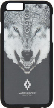Marcelo Burlon County of Milan Black Marcos iPhone 6 Case