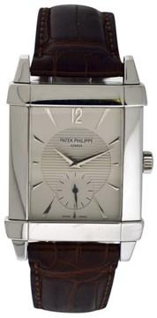 Patek Philippe 5111G Gondolo 18K White Gold Mens Watch