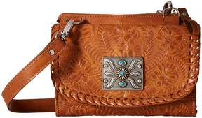 American West Texas 2 Step Grab-and-Go Combination Bag Shoulder Handbags
