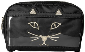 Charlotte Olympia - Purrrfect Makeup Bag Handbags
