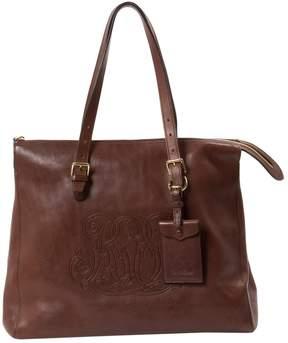 Lauren Ralph Lauren Brown Leather Handbag