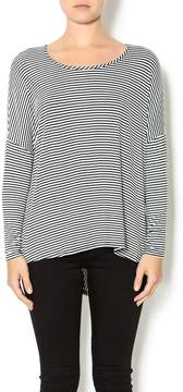 Double Zero Striped Tunic