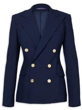 Ralph Lauren Collection Iconic Camden Double-Breasted Wool Jacket
