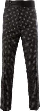 Haider Ackermann polka dot skinny trousers