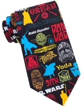 Star Wars Pop Sticker Tie