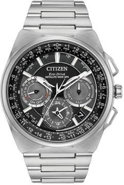 Citizen Satellite Wave F900 Men's GPS Titanium Watch CC9008-50E