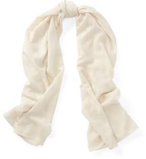 Ralph Lauren Wool-Cashmere Wrap Scarf