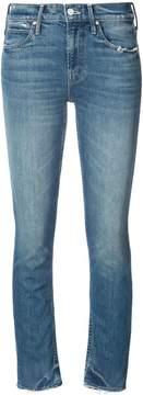 Mother skinny ankle-grazer jeans