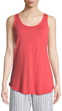 Allen Allen Scoop-Neck Easy Jersey Tank