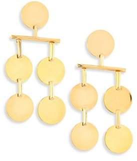 Eddie Borgo Token Chandelier Earrings