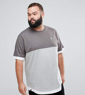 Le Breve Plus Two Tone T-Shirt