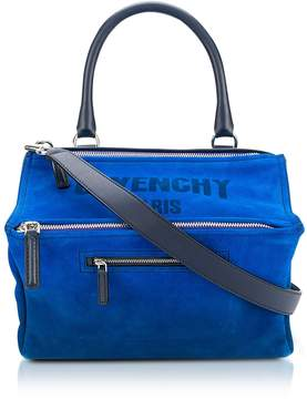 Givenchy Blue Leather Pandora Crossbody Bag