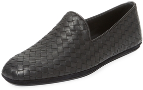 Bottega Veneta Men's Woven Leather Loafer
