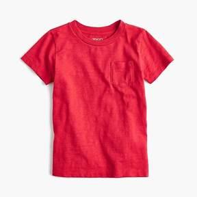 J.Crew Boys' slub pocket T-shirt