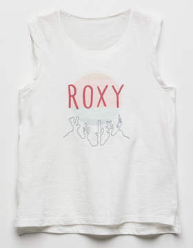 Roxy Take My Hand Girls Muscle Tank