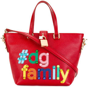 Dolce & Gabbana Dolce shopper tote - RED - STYLE