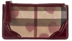 Burberry Hearts Nova Check Coin Purse - BROWN - STYLE