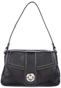 Marc Jacobs Leather Flap Shoulder Bag