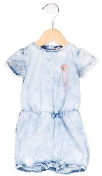 Billieblush Girls' Tie-Dye Embellished All-In-One