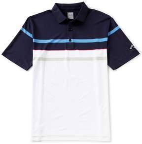 Callaway Short-Sleeve Opti-Dri Refined Stripe Polo