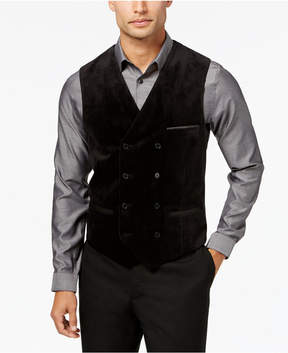 INC International Concepts Men's Slim-Fit Velvet Vest, Created for Macy's