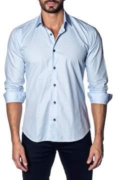 Jared Lang Printed Slim Fit Shirt